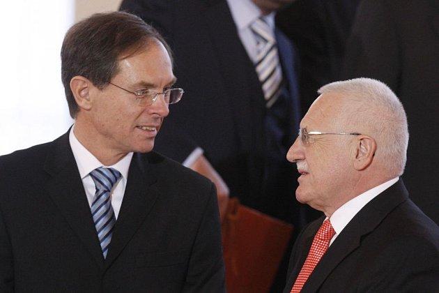 Dva kandidáti na prezidenta republiky