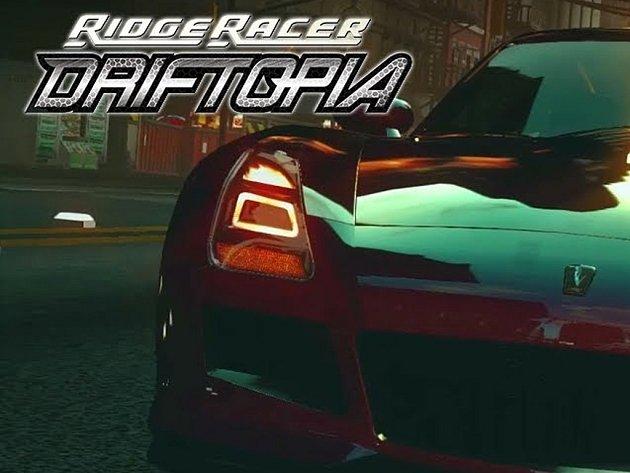 Počítačová hra Ridge Racer Driftopia.