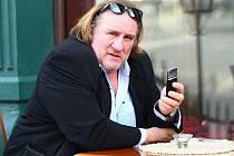 Francouzský herec Gérard Depardieu.