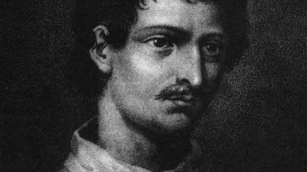 Giordano Bruno na obraze z roku 1578