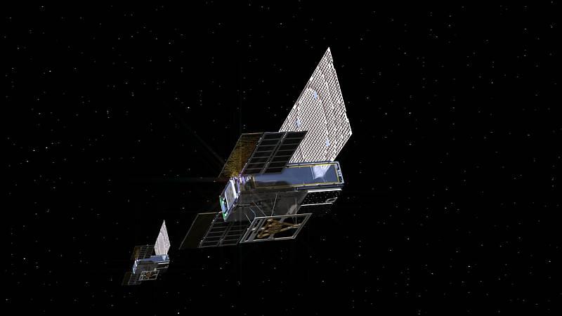 Minisatelity MarCO odprovázely sondu InSight.