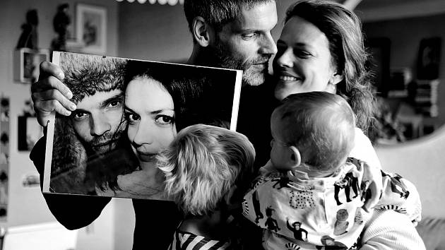 Manželé Růžičkovi se svými dětmi