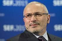 Bývalý ruský ropný magnát Michail Chodorkovskij.
