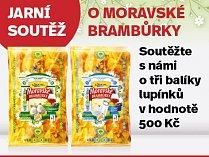 Jarní soutěž o Moravské brambůrky
