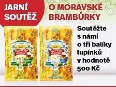 Jarní soutěž o Moravské brambůrky.