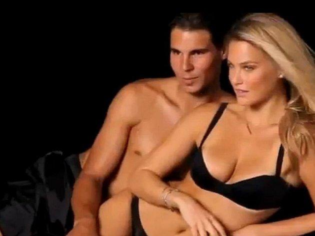 Rafael Nadal coby model s Barou Rafaeli.