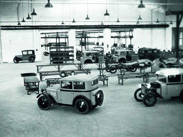 Vozy BMW 3/15 PS vznikaly vpronajaté továrně Ambi-Budd na berlínském letišti Johannisthal.