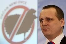Poslanec Věcí veřejných (VV) Vít Bárta, nejvážnější kandidát na předsedu VV, vystoupil na volební konferenci strany 16. února v Praze.