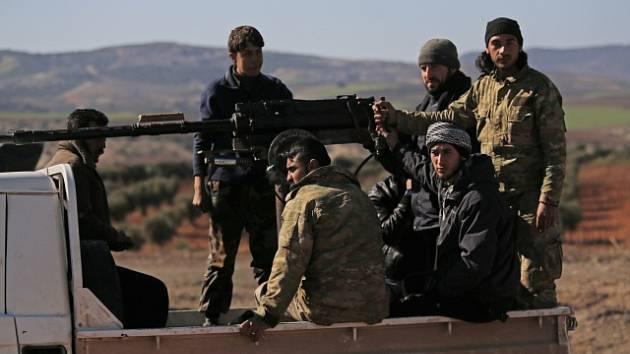 Kurdské milice. Ilustrační snímek