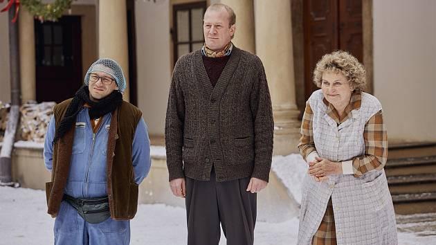 Z natáčení filmu Poslední aristokratka