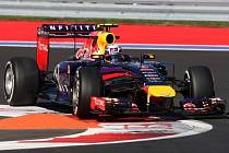 Daniel Ricciardo na okruhu v Soči