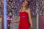 Dvojnásobná medailistka z OH v Soči Gabriela Soukalová na slavnostním večeru Sportovec roku.