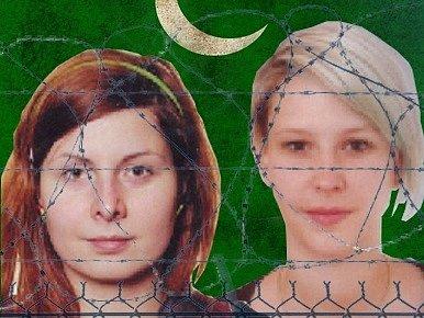 Fotografie z webu vytvořeného na podporu unesených Češek
