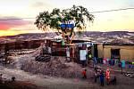 """""""Americké návštěvnické centrum"""" - projekt japonského uměleckého spolku na americko-mexické hranici"""