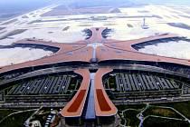 Nové mezinárodní letiště Ta-sing v Pekingu