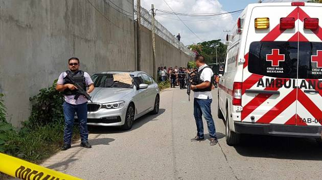 Vyšetřování vraždy žurnalisty Juana Carlose Huerty.