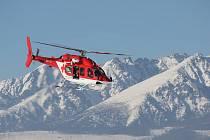 Zásah vrtulníku ve Vysokých Tatrách. Ilustrační snímek