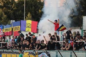 Bohemians - Sparta: Největší vzruch přinesla jedna dýmovnice v sektoru hostů