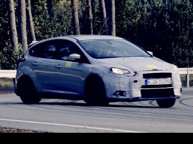 Ford láká na nový Focus RS.