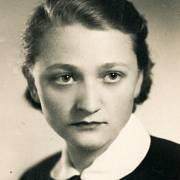 Jiřina Čechová v roce 1955