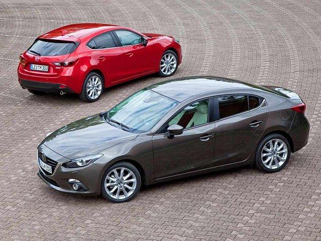 Nová Mazda 3.