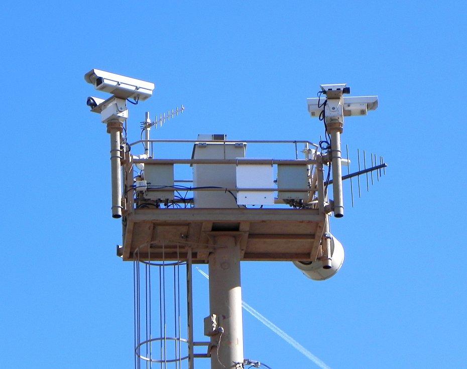 Elektronické zabezpečení hranice mezi USA a Mexikem
