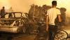 Výbuch auta s výbušninami na rušné ulici v Libyi