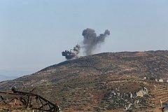 Útok v Afrínu proti hoře Bursaya