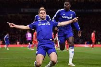 Chelsea slaví postup do pohárového finále