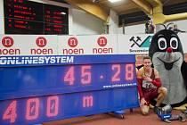 Pavel Maslák zaběhl na halovém MČR nejlepší letošní čtyřstovku na světě.