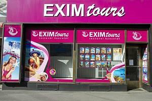 Pobočka CK Exim Tours v Revoluční ulici v Praze