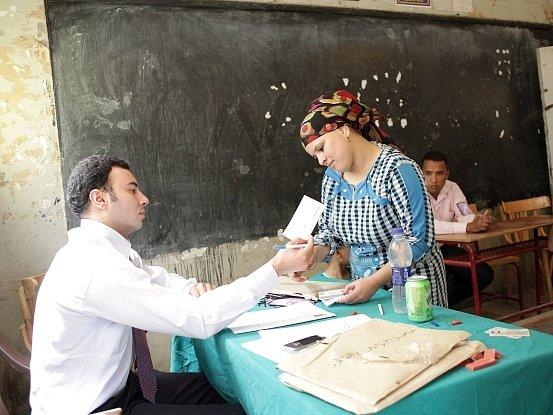 Volby v Egyptě. Ilustrační foto