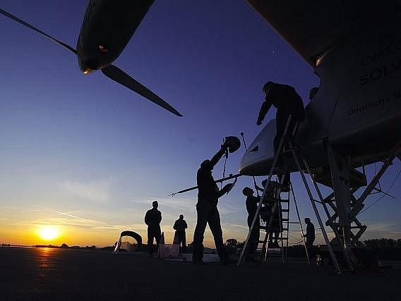 Letadlo na sluneční pohon