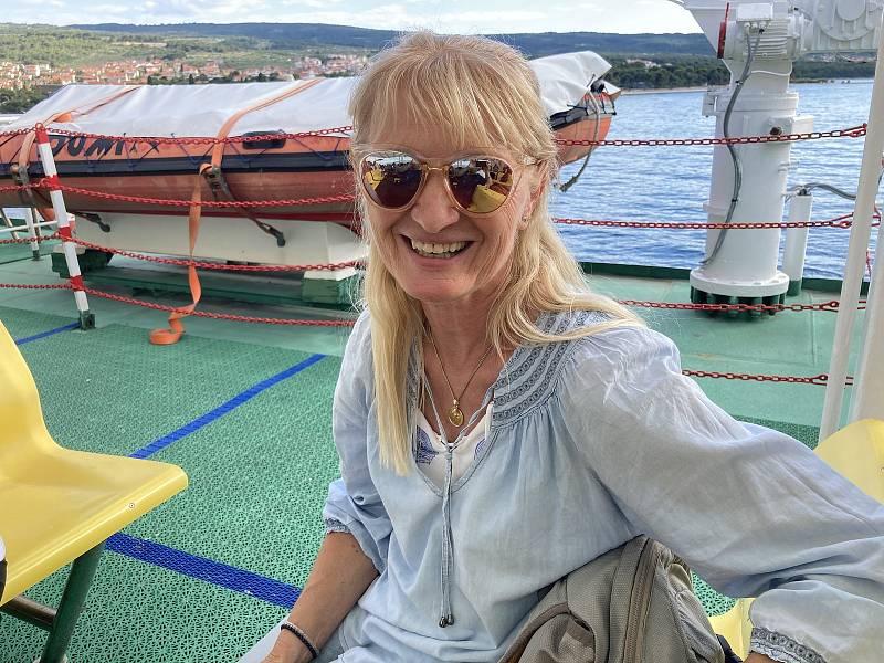 Místní průvodci se už stejně jako ostatní Chorvaté na české turisty těší. Výjimkou není ani Renata Rakusić, která má české kořeny.