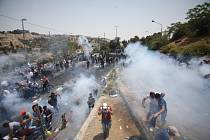 Násilnosti v Jeruzalémě.