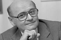 Filmový režisér Oldřich Lipský.