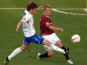 Kouč Mladé Boleslavi Zdeněk Ščasný musel sledovat druhý poločas duelu se Spartou z tribuny.