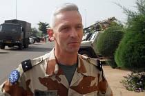 Velitel francouzských jednotek Francois Lecointre