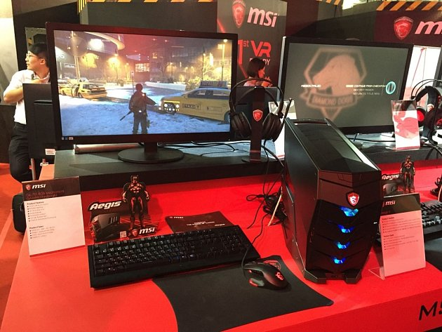 Stolní počítač MSI Aegis X.