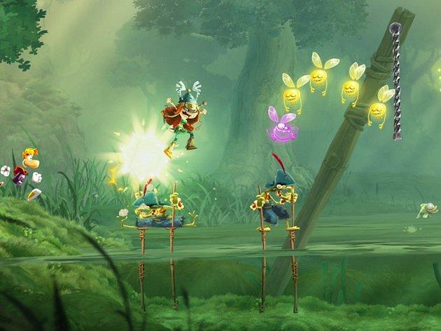 Počítačová hra Rayman Legends.