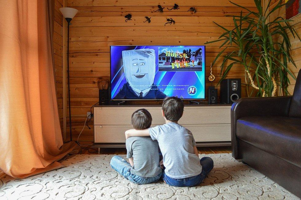 Internetové televize. Ilustrační foto