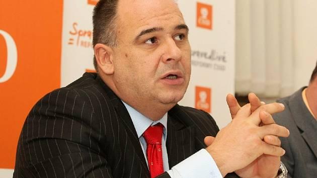 Volební manažer ČSSD Jan Birke.