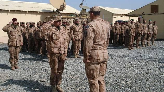 Kontingent českých vojáků z Provinčního rekonstrukčního týmu v Afghánistánské provincii Lógar. Ilustrační foto