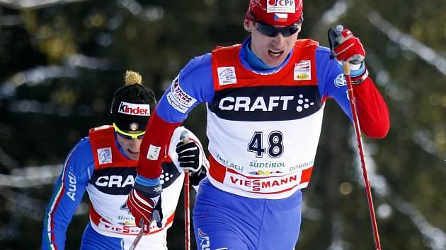 Lukáš Bauer vyhrál předposlední část Tour de Ski, závod na 20 km.