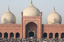 Muslimská mešita.