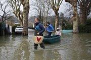 Povodně v jižní Francii