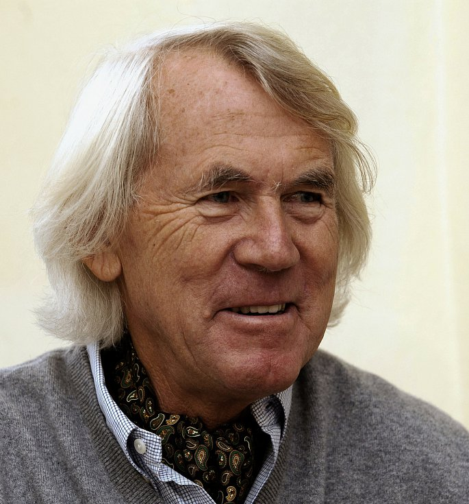 Profesor Jiří Dvořák.