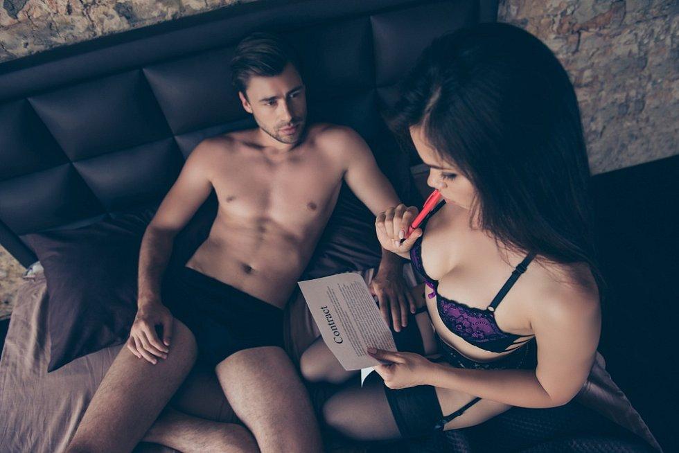 Písemný souhlas k sexu - Ilustrační foto
