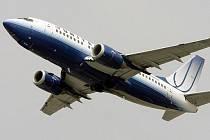 Letadlo společnosti United Airlines. Ilustrační foto