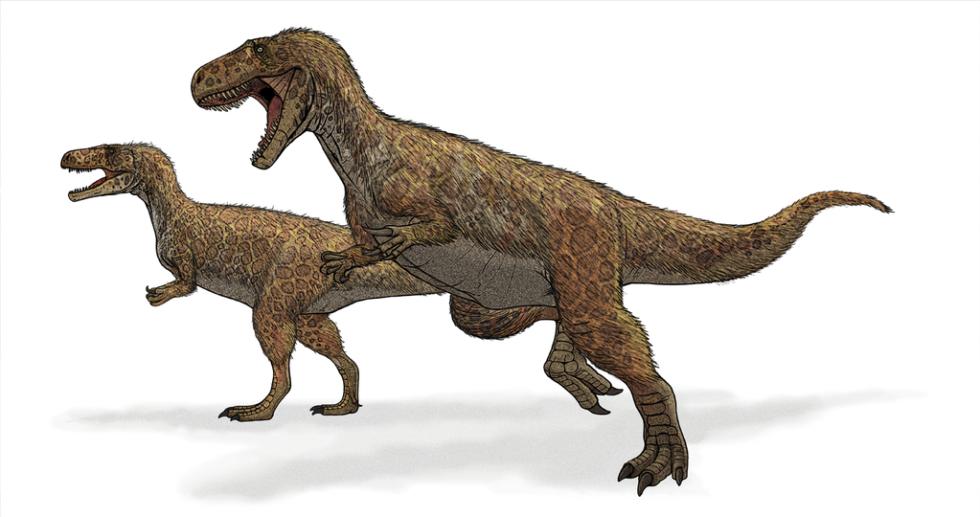 Zhruba takhle vypadal obří pravěký dinosaurus, Megalosaurus.